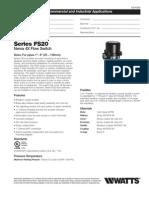Series FS20 Specification Sheet