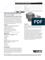 Series G, GH, MG, MGH Specification Sheet