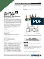 Series LF007 Specification Sheet