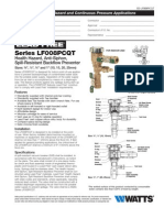 Series LF008PCQT Specification Sheet