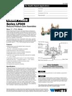 Series LF009 Specification Sheet