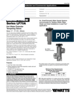 Series LF70A Specification Sheet