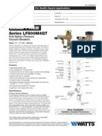 Series LF800M4QT Specification Sheet
