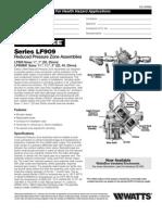 Series LF909 Specification Sheet