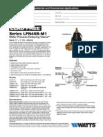 Series LFN45B Specification Sheet