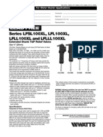 Series LFSL100XL, LFL100XL, LFLL100XL and LFLLL100XL Specification Sheet