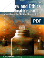 Aurora Plomer-The Law and Ethics of Medical Research_