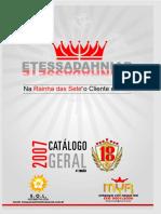 Catalogo Rainha Das Sete