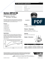 Series MFCV-SS Specification Sheet