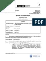 MSC 101-2-2 - Outcome of FAL 43 (Secretariat)