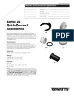 Series 35 Quick-Connect Accessories Specification Sheet