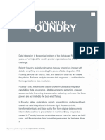 Palantir Foundry Booklet 1