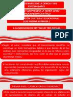 Epistemologia Exposicion Luis Piscoya