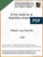 Lino Tesisi .Argentina