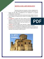 Caracteristicas Del Arte Romanico