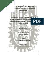 Análisis Del Estudio Experimental de La Combustión a Presión Moderada de Aceite Pesado Usando Tetralina y Catalizador Base Óxido Metálico