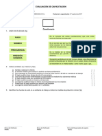 Evaluación Protección Auditiva