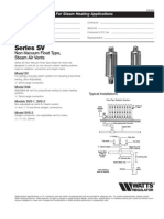 Series SV Specification Sheet