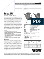 Series TDV Specification Sheet