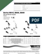 Series E810, E830, E840 Specification Sheet
