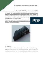 FPM10 R305 Fingerprint Sensor Interfacin