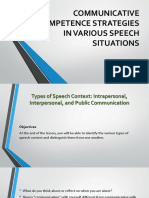 324491747-Communicative-Competence-Strategies-in-Various-Speech-Situations.ppt