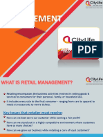 Retail Management by Palash Mitra
