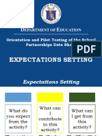 002 Expectations Setting
