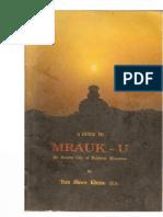 Guide to Mrauk-U, An Ancient City of Rakhaing, Myanmar