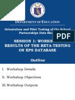 004 Session1 Workshop Results