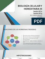 Biología Celular y Hereditaria III