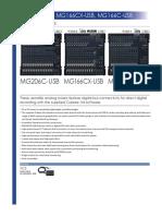 Mg206c Usb 166c Usb Datasheet