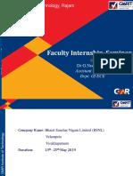GNR Internship Seminar