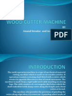ppt for wood cutter machine