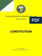 RISM - Constitution