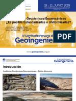 JOSE CARLOS SUSANIBAR - Auditorias Geotécnicas.geomecánicas – Es Posible Estandarizarlas o Uniformizarlas