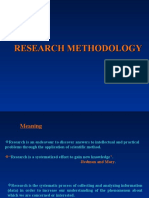 Research Methodology Unit 1