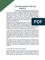 El Mundo de Platon y de Las Ideas II
