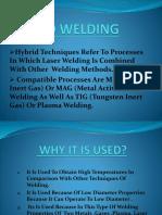 Hybrid Welding