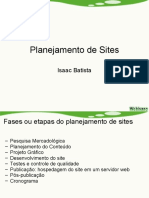 planejando sites