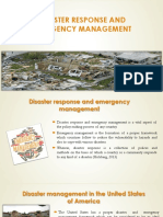 Disaster Response and Emergency Management