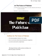 23 Essay on the Future of Pakistan _ the College Study
