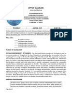 071119 Clearlake City Council agenda packet