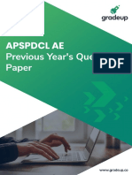 Apspdcl ae papers