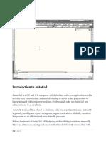 AutoCad Intro