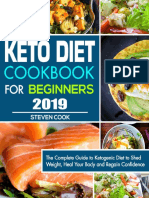 Keto Diet Cookbook for Beginners 2019