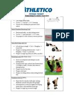Hip Exercise Progressions Eccentric