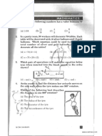 NSTSE Class 6 Solved Paper 2009