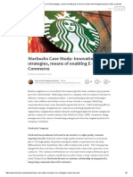Starbucks Case Study_ Innovation in CRM Strategies, Means of Enabling E-Commerce _ Stavroula Panagiotaropoulou _ Pulse _ LinkedIn