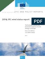 2014JRCwindstatusreport en N